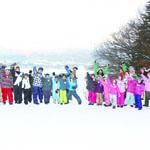 お手軽雪遊び⑤
