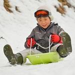 海秋スキー雪遊び5