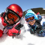 海秋スキー雪遊び